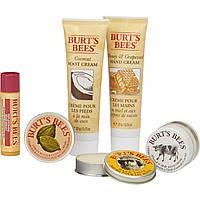 Подарочный набор натуральной косметики для ухода за лицом и телом Burt's Bees Tips and Toes Kit, фото 1