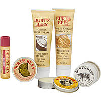 Подарочный набор натуральной косметики для ухода за лицом и телом Burt's Bees Tips and Toes Kit