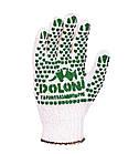 Рабочие перчатки с ПВХ 7 класс Doloni 547 (10 ПАР), фото 2