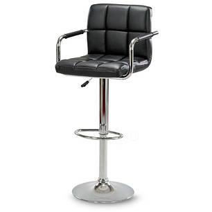 Барный стул табурет барний стілець кресло для кухни Hoker Alter черный, фото 2