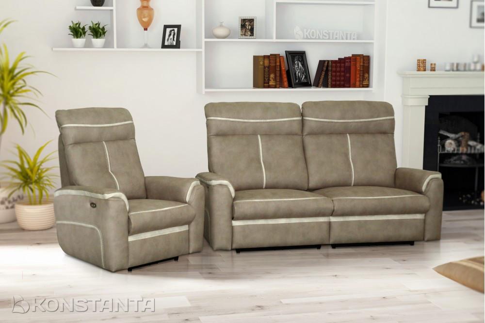 Pavane 3 диван прямой не раскладной, фото 1