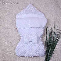 Зимний конверт-спальник Пушинка (белый) , фото 1