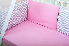 """Бортики в кроватку """"Маршмеллоу"""" (Бисквит), фото 3"""