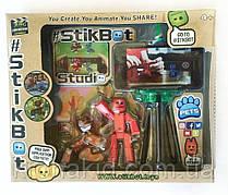Набор фигурок для анимационного творчества StikBot со штативом для съёмки