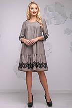 Женское платье свободного кроя с кружевом (2780-2778 svt), фото 3