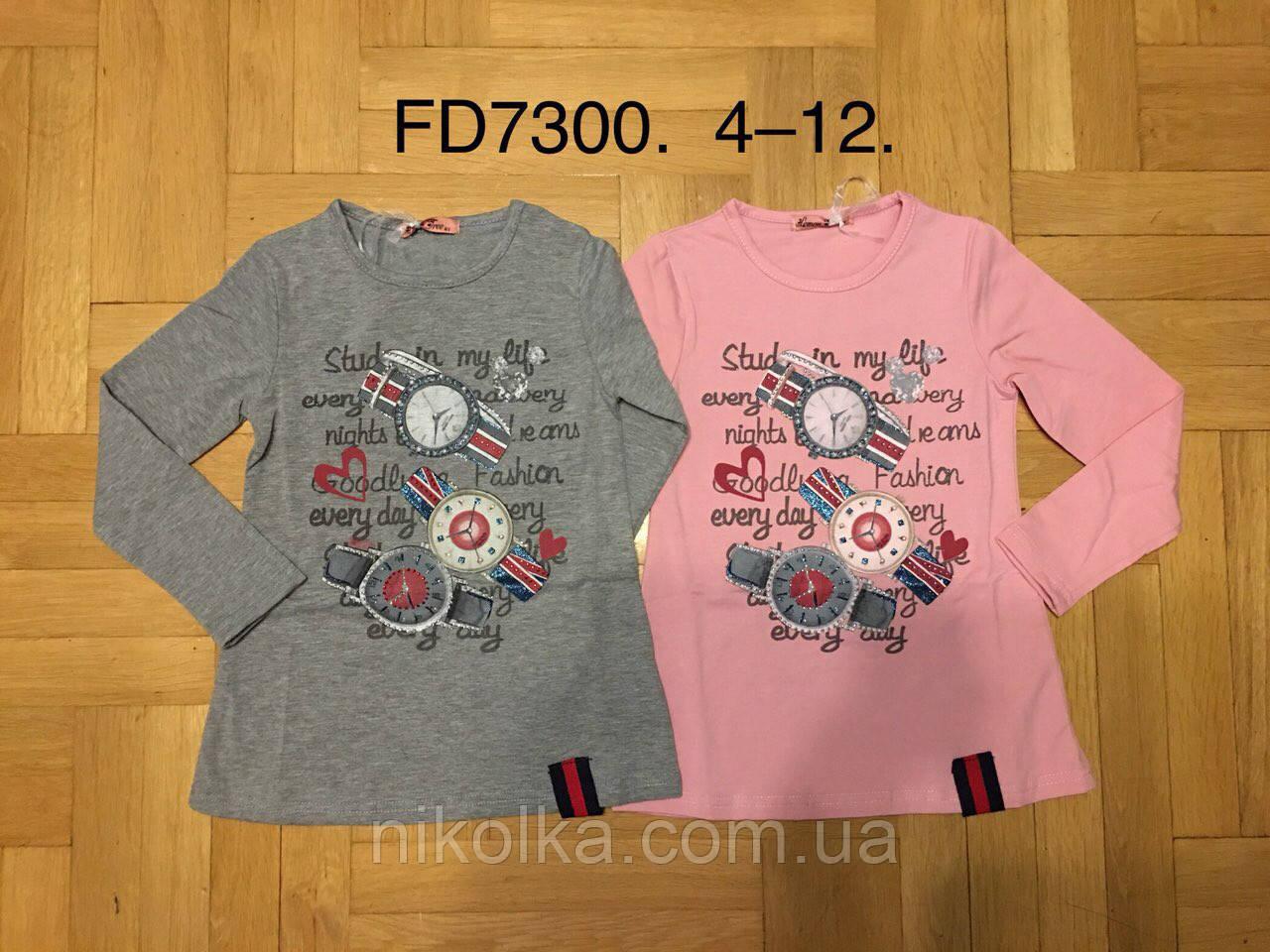 Реглан для девочек оптом, F&D, 4-12 лет., aрт.FD7300
