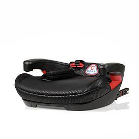 Детское автокресло бустер Isofix 6-12 лет JR5Х Pantera Black (III группа 22-36 кг) ТМ Capsula Черный 773110