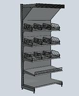 Мебель для магазина ВИКО. Торговое оборудование в магазин. Стеллажи ВИКО Киев Львов Одесса