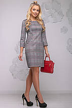 Женское приталенное платье в клетку (2779-2782 svt), фото 3