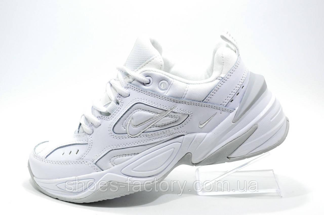official photos c2679 d0c6a Женские кроссовки в стиле Nike M2K Tekno, White Белые (Air Monarch) -