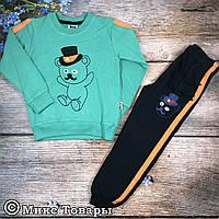 Спортивный костюм теплый для мальчика Размеры: 104 и 110 см (7103-4)