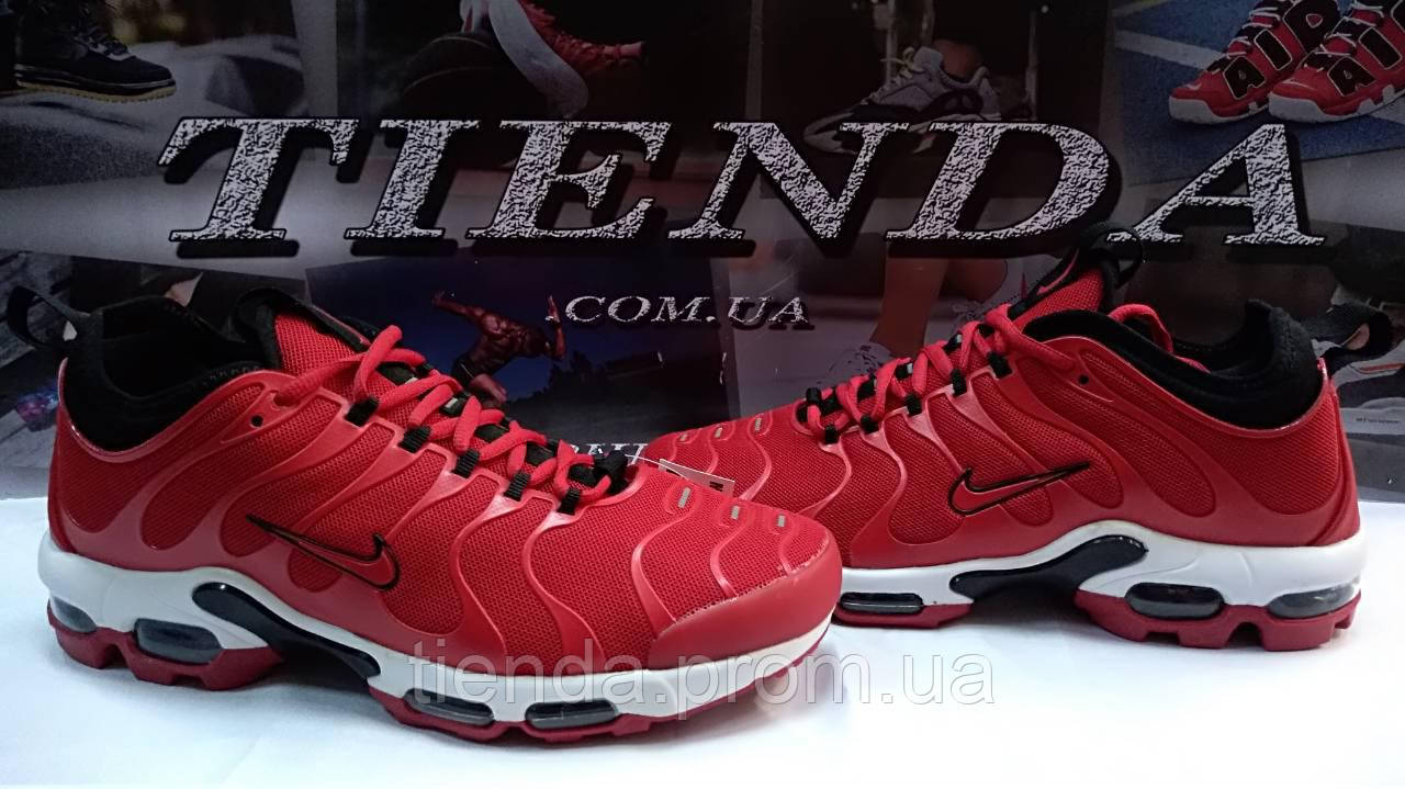 7fee92fb Мужские Кроссовки Nike Air Max Tn Plus Red (найк аир макс тн плюс красный )