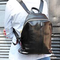 """Женский кожаный рюкзак """"Салли Black"""", фото 1"""