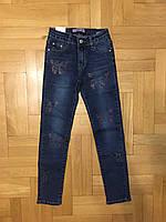 Джинсовые брюки для девочек оптом, Dream Girl, 8-16 лет, Арт. 9055, фото 2
