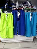 Купальные шорты - бермуды, 61/001,р.М(лимон,голубой,синий), L(синий), Lans,Украина