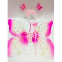 Набор - крылья бабочки,ободок,палочка.