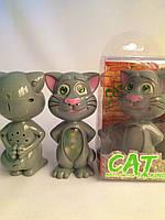 Интерактивная игрушка Говорящий Кот с подсветкой и функцией звукозаписи Cat Talking Multi-function!Акция