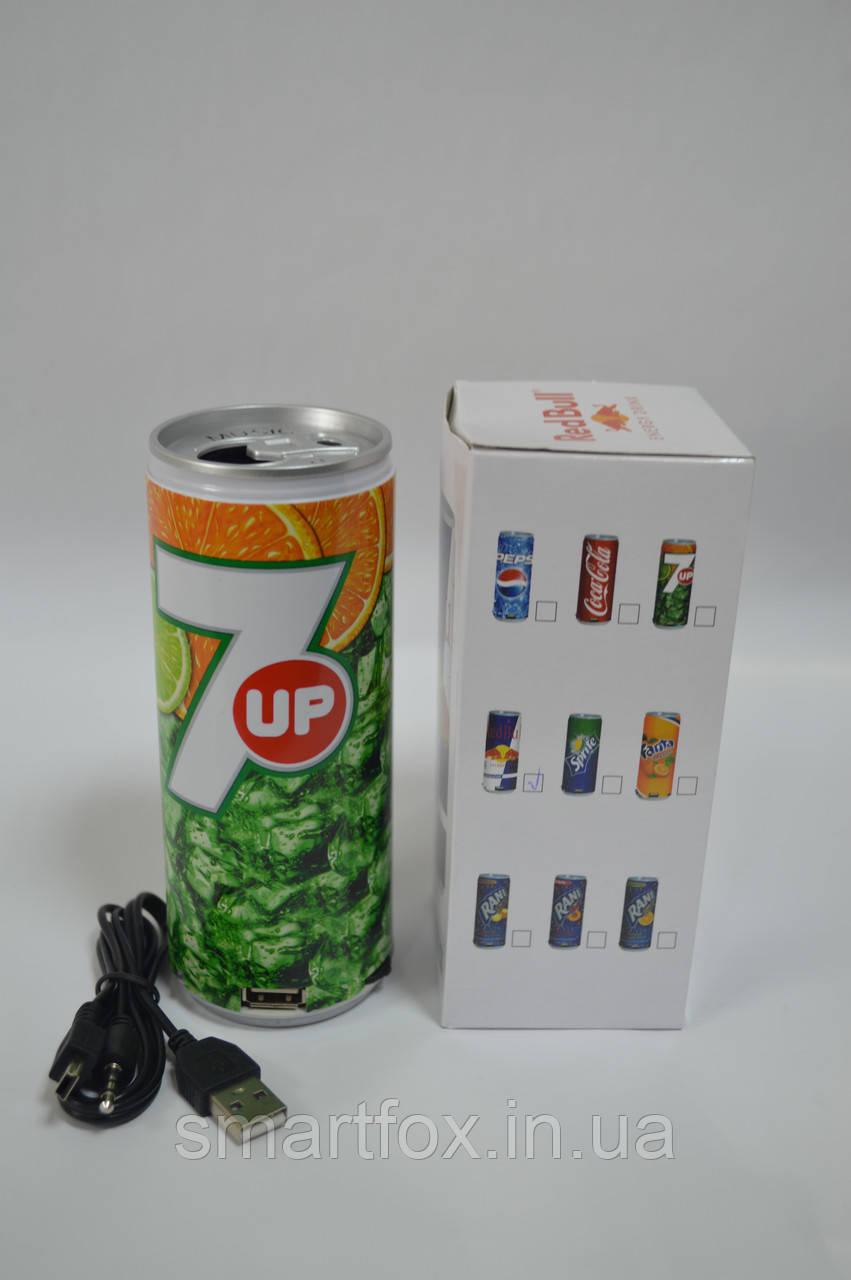 Портативная колонка 7UP(баночка NEW)