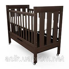 Детская кроватка Woodman Oskar,  цвет - шоколад.