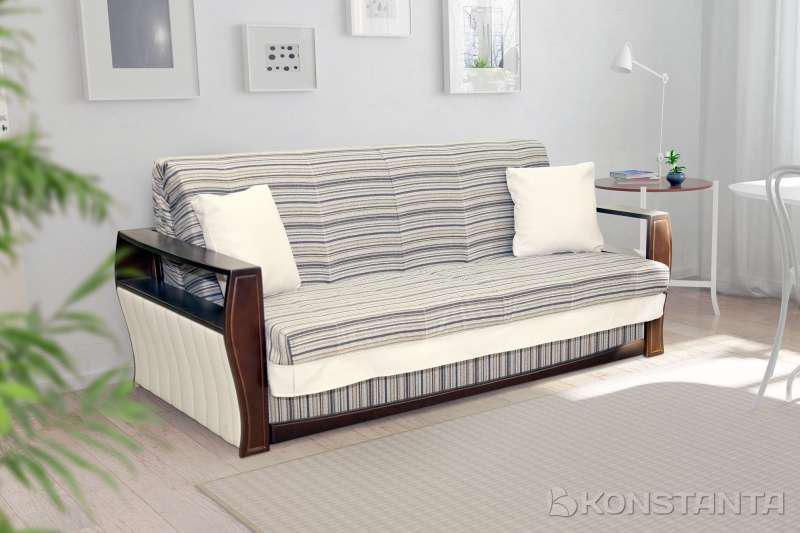 Прямой диван аккордион Варшава 1.2м