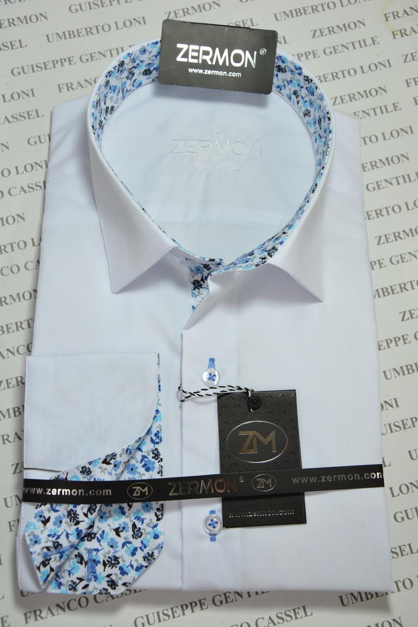 Приталенная рубашка ZERMON (размеры XXL)
