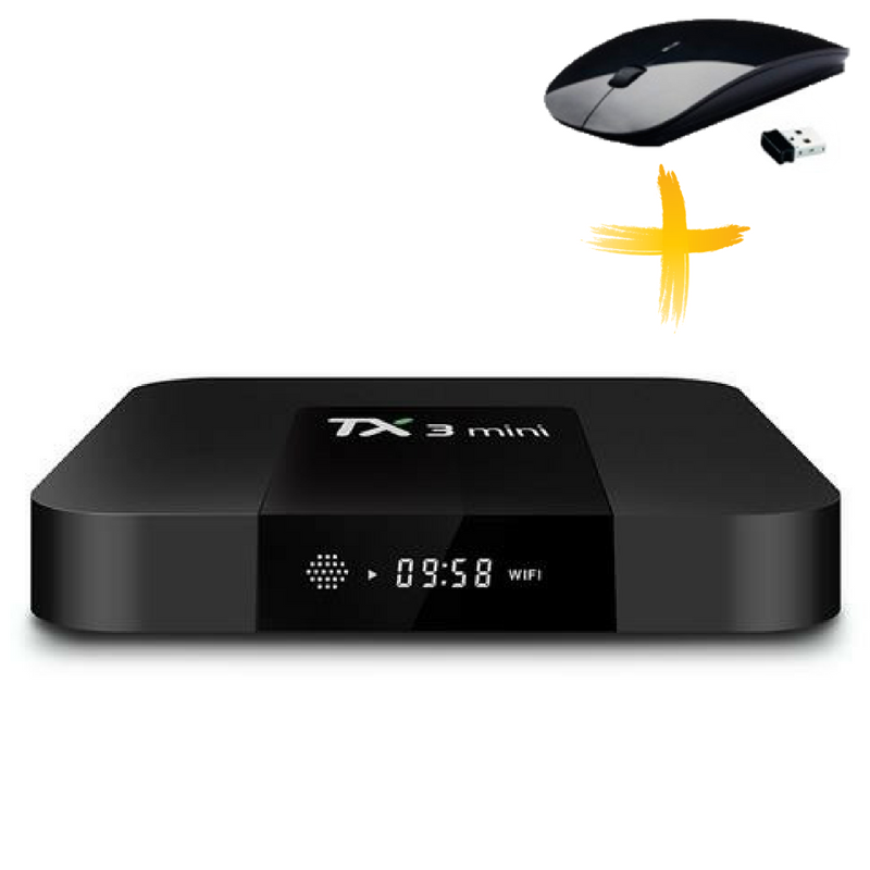 Смарт ТВ приставка, Android TV Box AmiBox Tanix TX3 Mini 1Гб/8Гб