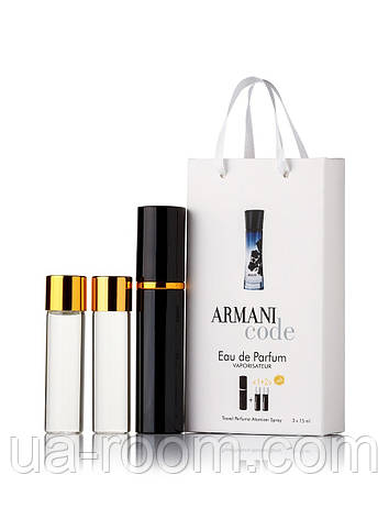 Мини-парфюм женский Giorgio Armani Armani Code women, 3х15 мл, фото 2