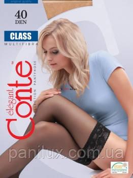 Чулки женские полиамидные (капроновые)Class 40 Den