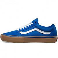 Кеды мужские Vans Old Skool (синие) Top replic