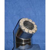 Колено термо 45 для саун Ф130/230 к/к