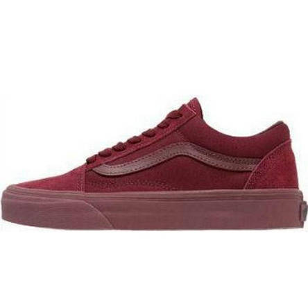 Кеды мужские Vans Old Skool - Port Royale (бордовые) Top replic ... 36ab6140f4ef5