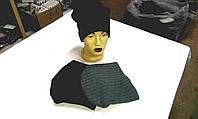 Женские, подростковые, мужские шапки шерстяные на флисе ША-3210, фото 1