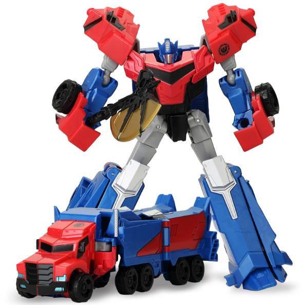 Робот-трансформер WEI JIANG Optimus Prime Сине-Красный (SUN1761)