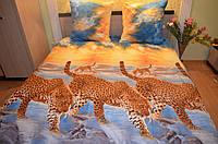 Леопарды на водопаде