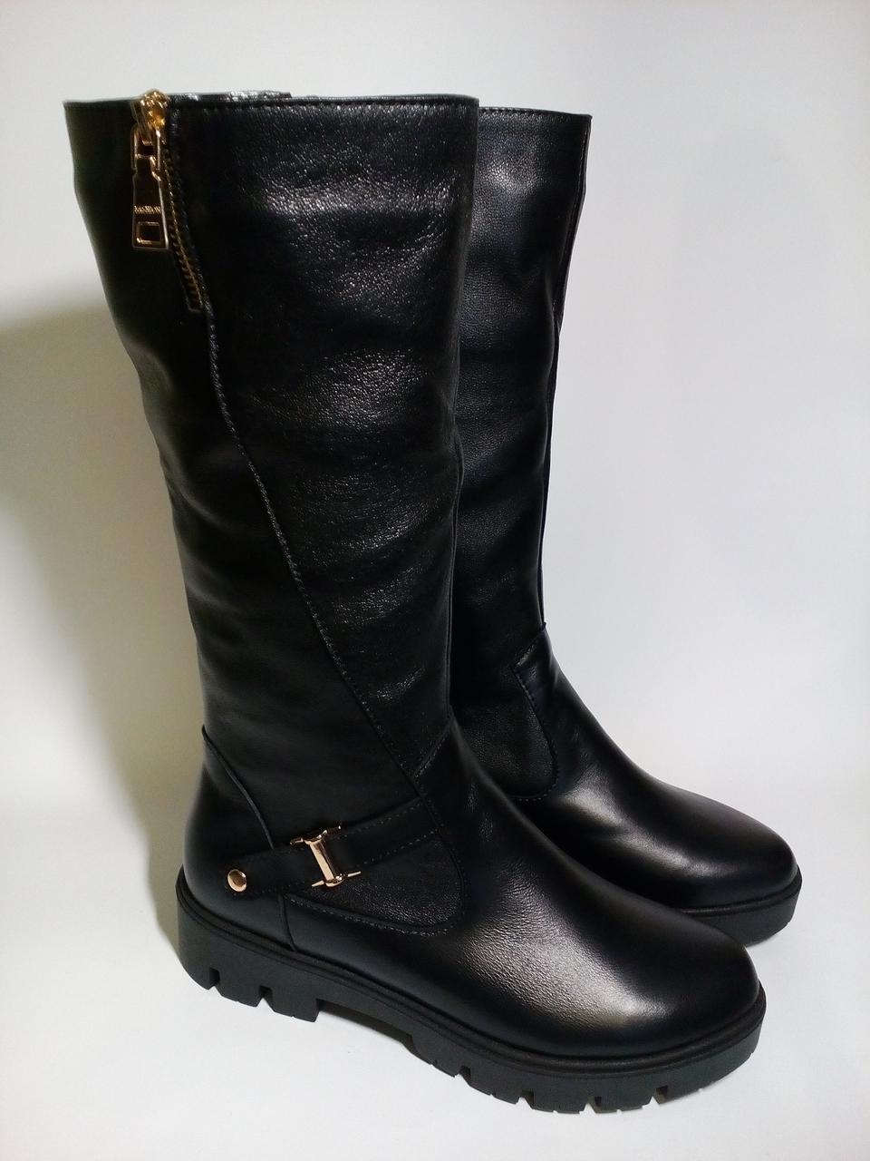 4992ab82ccb3 Сапоги женские кожаные зимние