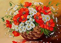 """Вафельная картинка """"Цветы"""" 2"""
