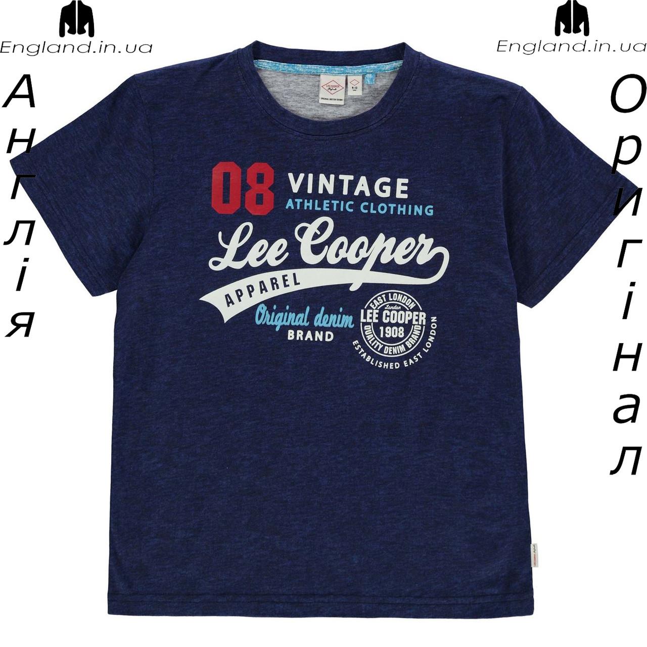 Распродажа !!! Футболка Lee Cooper из Англии для мальчиков 2-14 лет