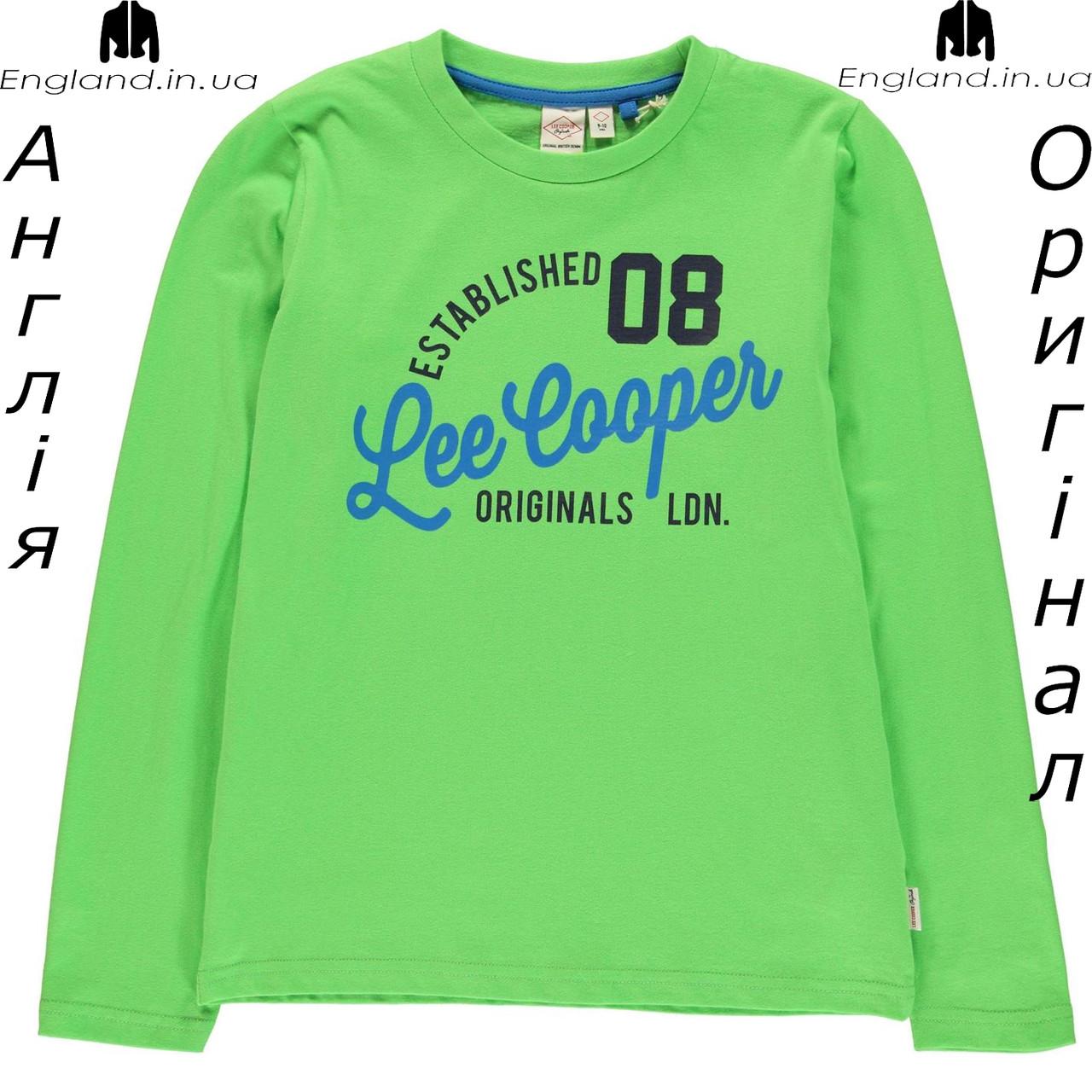 Кофта Lee Cooper из Англии для мальчиков 2-14 лет - осенняя с лого