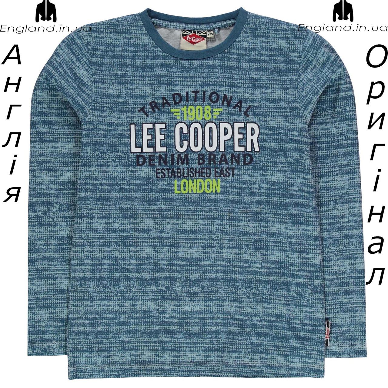 Футболка Lee Cooper из Англии для мальчиков 2-14 лет - на длинный рукав