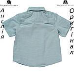 Рубашка Lee Cooper из Англии для мальчиков 2-14 лет - джинсовая(деним), фото 2