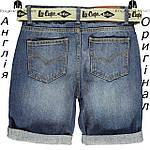 Шорты Lee Cooper из Англии для мальчиков 2-14 лет - джинсовые с ремнем, фото 2