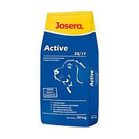 Josera active сухой корм для взрослых активных собак - 20 кг