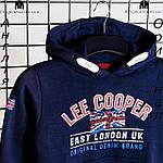 Кофта худи Lee Cooper из Англии для мальчиков 2-14 лет, фото 3