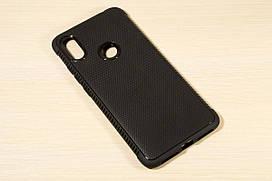 TPU чехол накладка Weave для Xiaomi Redmi S2 (Черный)