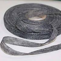 Долевик нитепрошивной клеевой 15мм (100м), серый