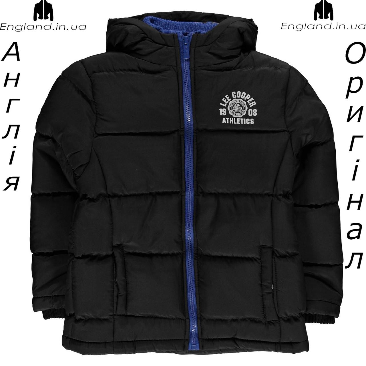 Куртка Lee Cooper из Англии для мальчиков 2-14 лет - осенняя