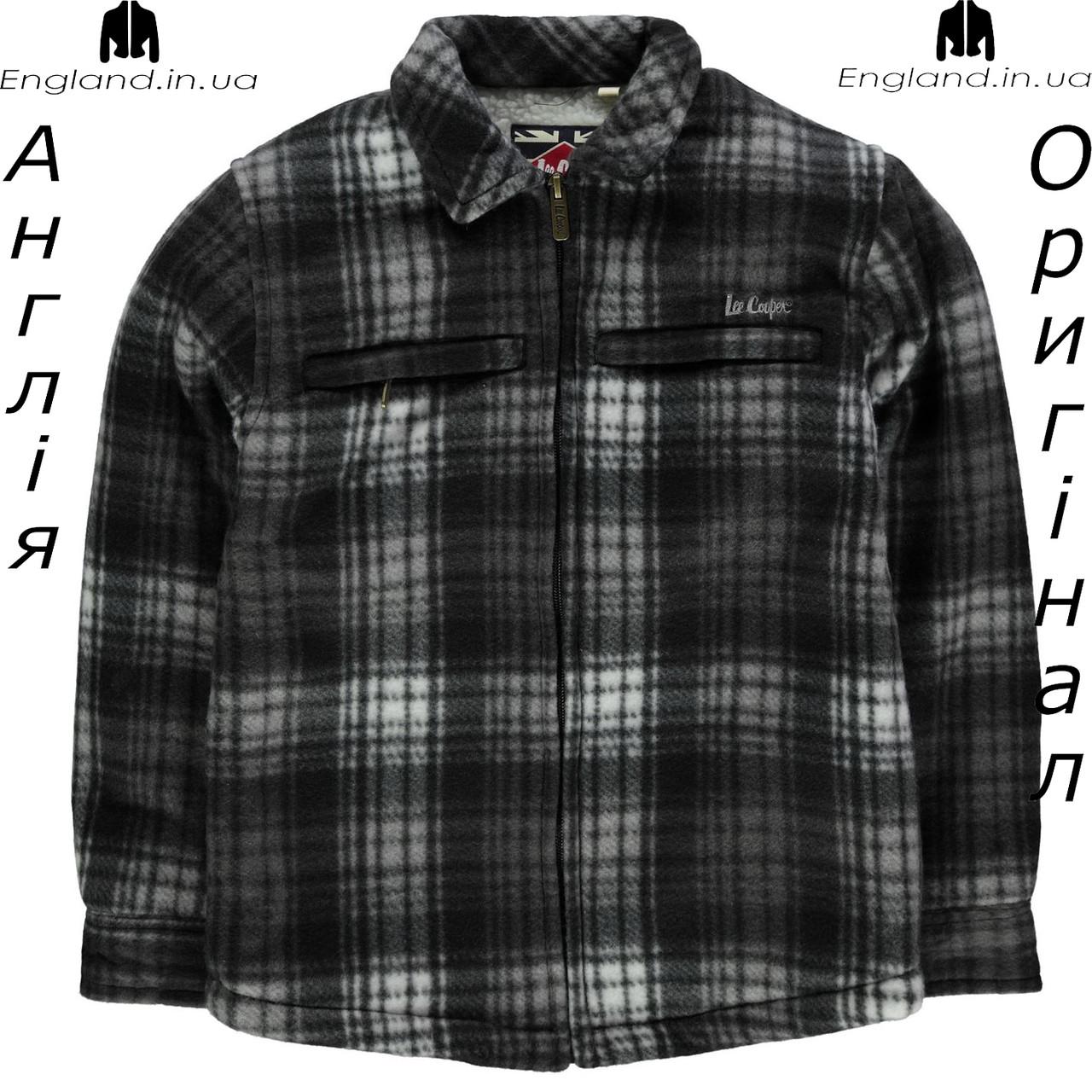 Куртка Lee Cooper из Англии для мальчиков 2-14 лет - с флисовой подкладкой