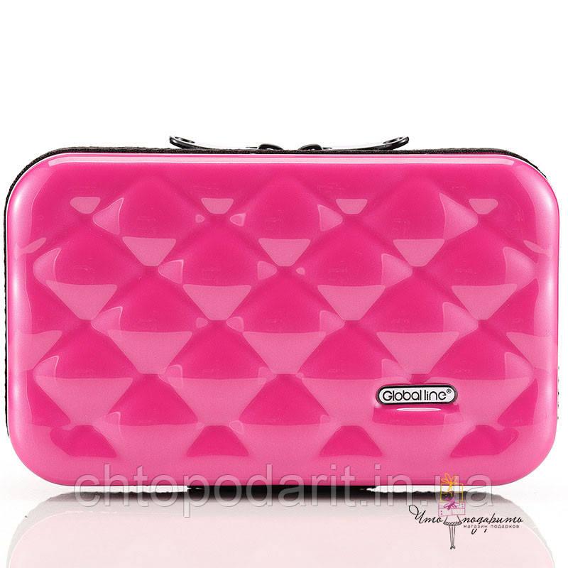 Стильный розовый кейс на каждый день Код 10-7495