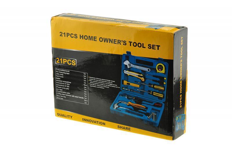"""Набор ручного инструмента 21 PCS Home Owner""""s Tool Set (21 предмет)"""