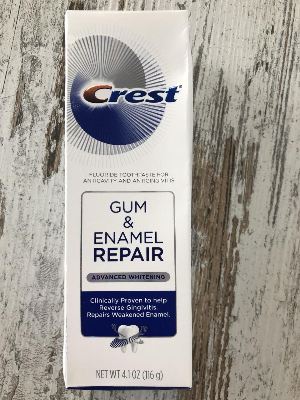 Зубная паста для десен и восстановления эмали Crest Gum and Enamel Repair